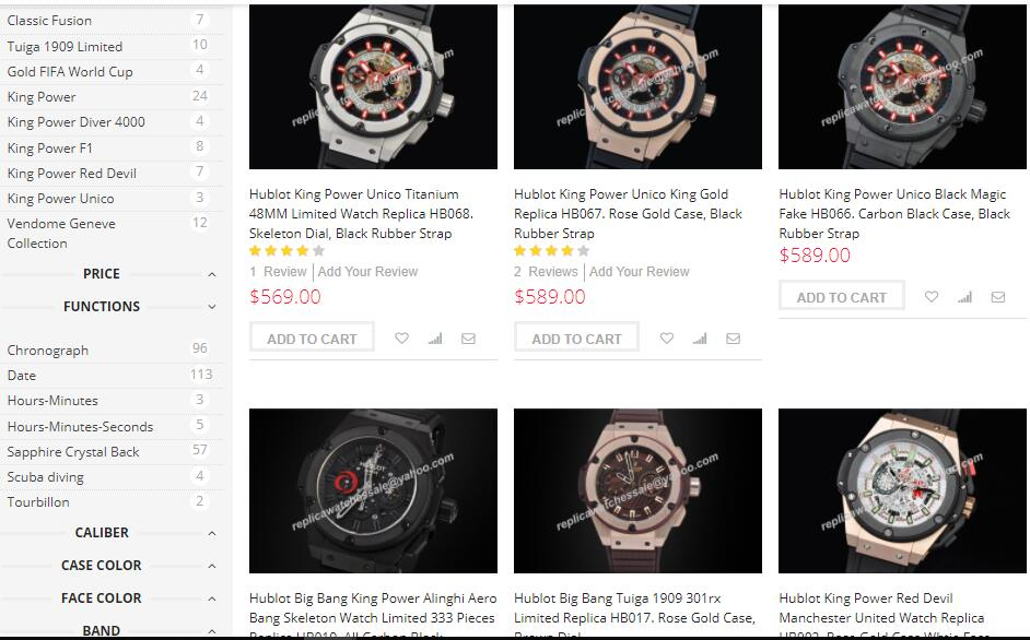 replica hublot watches sale on scopical.com.au