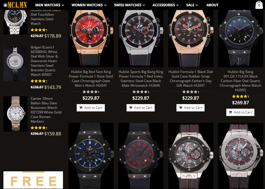 replica Hublot watches sale us