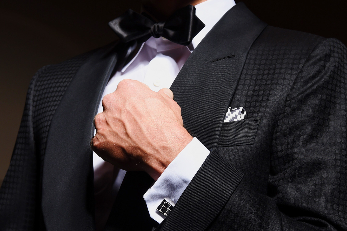 Fashion men wear cufflinks